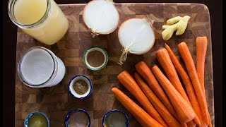 Carrot Ginger Soup With Coconut Milk