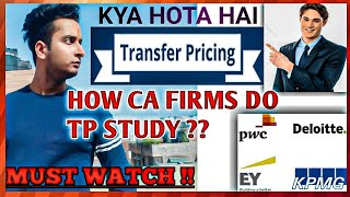 TRANSFER PRICING:-DETAILED DISCUSSION :-CA FIRMS PRACTICAL CONSIDERATIONS (PART-1)