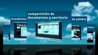 Aplicación de videoreunión y colaboración multimedia de alta calida...