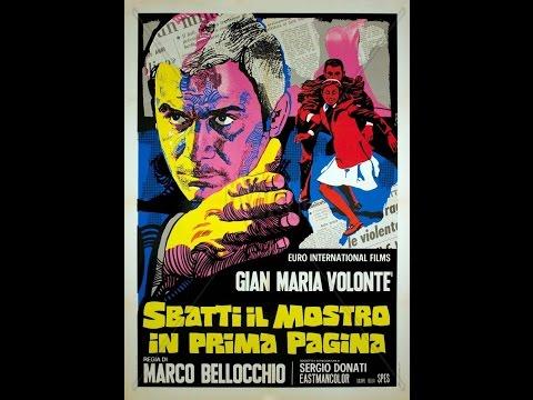 G.M.Volonte' SBATTI IL MOSTRO IN PRIMA PAGINA il film1972LEGGERE BENE LA DESCRIZIONE!
