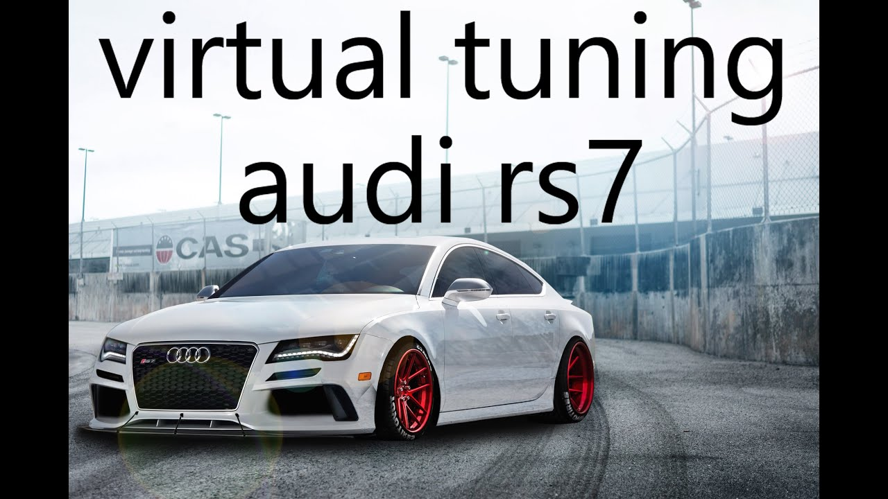 virtual tuning audi rs7 youtube. Black Bedroom Furniture Sets. Home Design Ideas