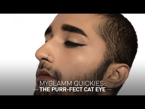 MyGlamm Quickies : The Purr-fect Cat Eye