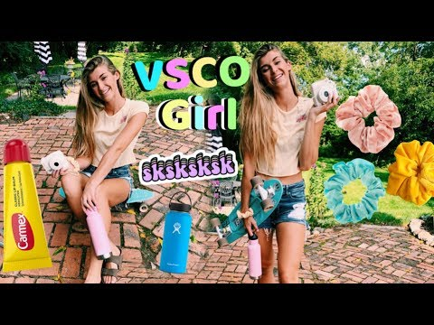 Becoming the ultimate VSCO girl for a day!