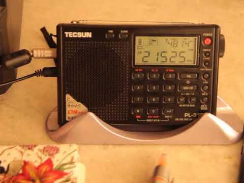 RMI Radio Africa Network 21525 kHz
