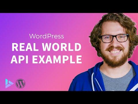 WordPress parse json