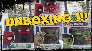 FUNKO POP! MARVEL Holiday ( Christmas ) (FULL SET)  [ UNBOXING ]