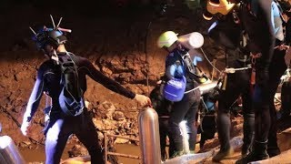 Tailandia: tras la muerte de un buzo, hubo otro grave accidente en el operativo de rescate de los ch
