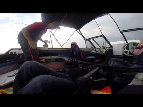 Lake Ontario Fish-On Prank