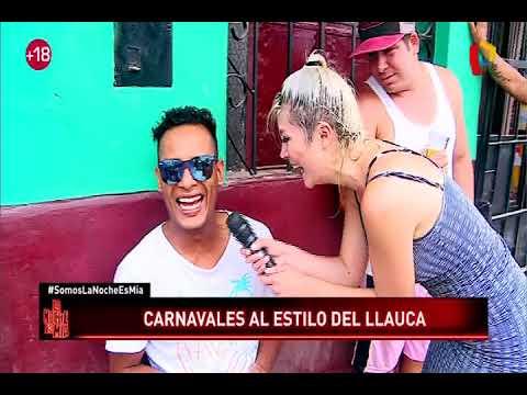 Así se viven los carnavales en el Callao