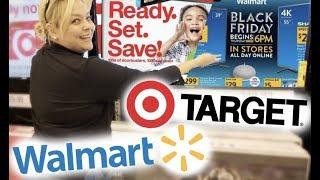 BLACK FRIDAY DEALS 2018 Walmart vs. Target