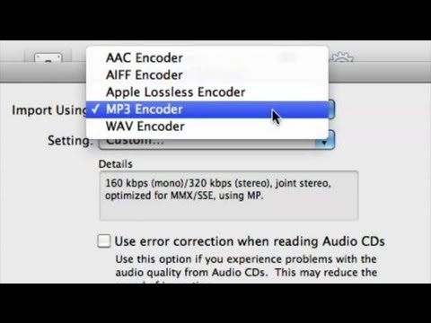 How to Convert WMA to AAC in iTunes : Help With iTunes