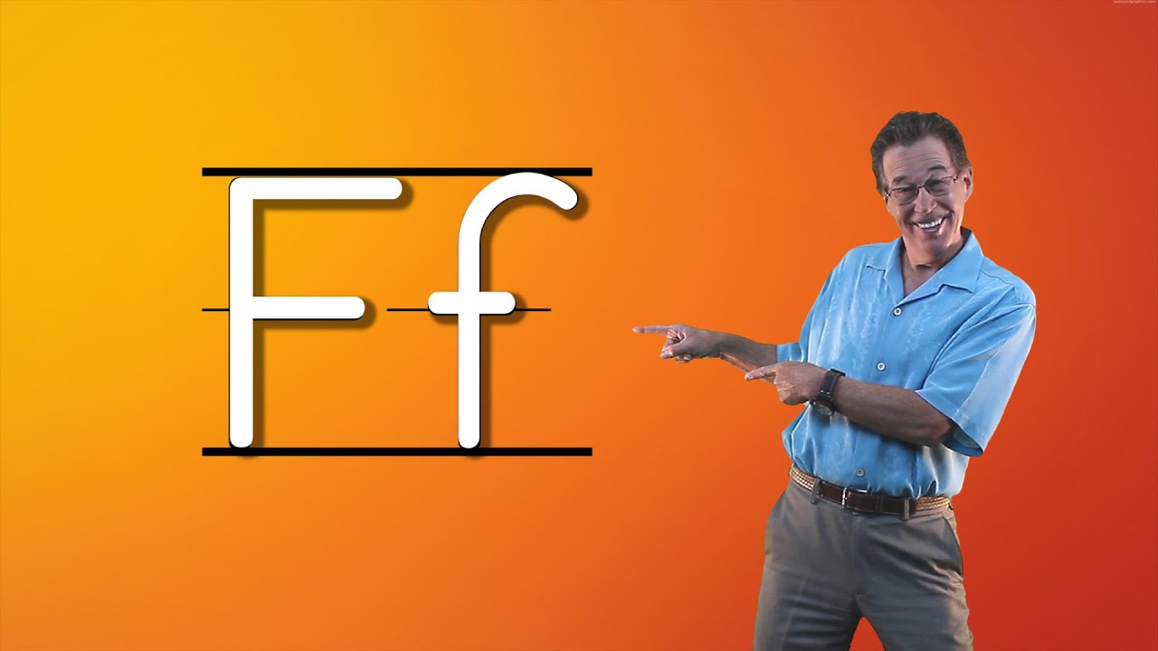 Learn The Letter F Let s Learn About The Alphabet