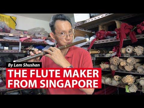 The Flute Maker from Singapore    CNA Insider