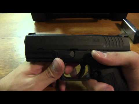 Springfield XDM 3.8 .45ACP Review and Field Strip (HD)