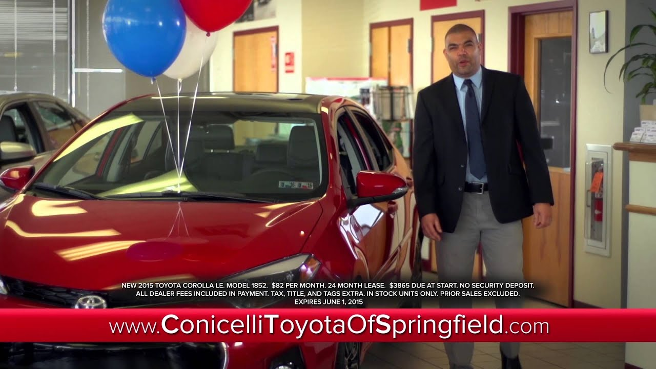 ToyotaTime Sales Event At Conicelli Toyota Of Springfield
