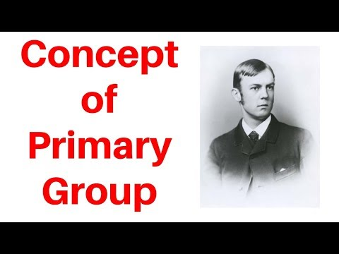 CH Cooley Concept of Primary Group in Hindi | Sociology