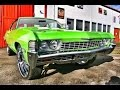 1968 Chevy Impala Fastback Coupé V8 307 Custom Edition V8 Sound