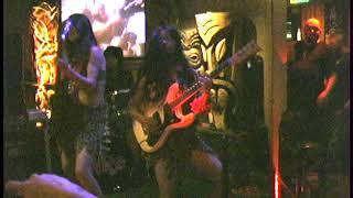 The Whys Japanese surf guitar band live at The Purple Orchid tiki bar, El Segundo, California 2006