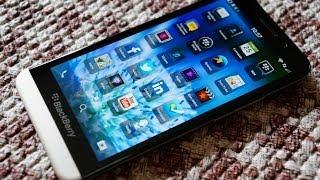 Обзор BlackBerry Z30 ч1: дизайн, игры, тесты, камера, звук