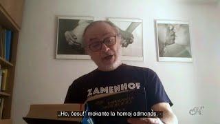 La vojo  – L.L. Zamenhof – Deklamas Miguel Fernández