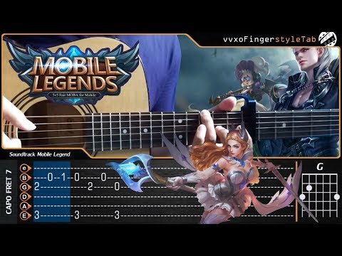 Soundtrack Mobile Legend - Cover (Fingerstyle Cover) -【TAB & Chord】Guitar Tutorial