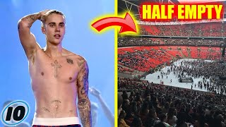 Justin Bieber Can't Sell Concert Tickets