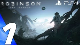 Robinson the journey (ps4) - gameplay walkthrough part 1 - prologue & review [1080p 60fps]