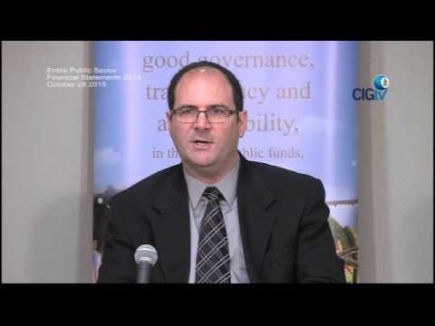 Entire Public Sector Financial Statement  2014, Oct 28 2015, Press Conference