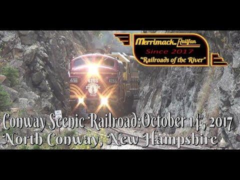 Club 470 Notch Excursion, Conway Scenic Railroad, 10-14-17