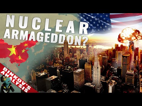 What would a total nuclear war between China and the US look like?