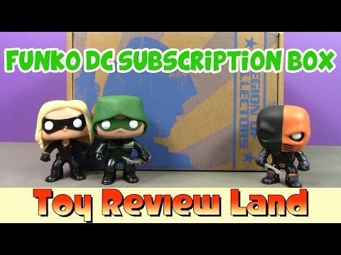 Funko Legion Of Collectors Unboxing DC TV Shows Flash, Green Arrow, Supergirl, Legends Of Tomorrow