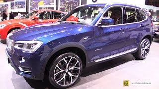 2015 BMW X3 xDrive 20d M Sport Package - Exterior and Interior Walkaround - 2015 Geneva Motor Show
