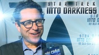 J.J. Abrams Apologizes for Lens Flare (Star Trek Into Darkness Blu-Ray Release Party)