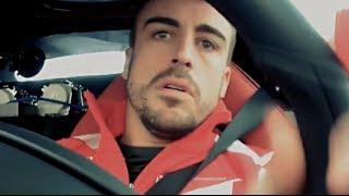Fernando Alonso Tests Ferrari LaFerrari Fiorano Circuit F1 Commercial 2014 Carjam TV