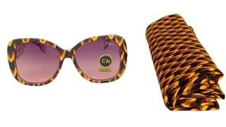 DIY Ankara Sunglasses • Easy 3-step DIY
