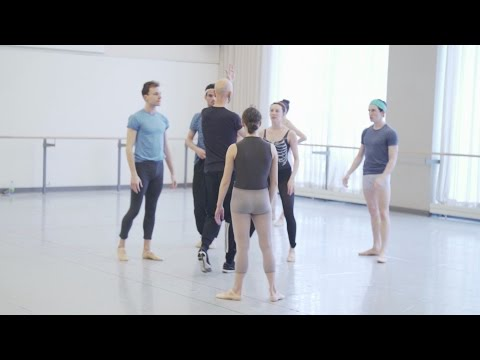 Wayne McGregor Rehearsing Genus – Facebook LIVE Recording  | 2017 | The National Ballet of Canada