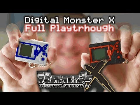 DDdiaries: Digital Monster X FULL PLAYTHROUGH (DMX, V-pet X, Digimon X)