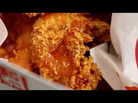 Popeyes Hot Honey Crunch Tenders Box DEVOURED & REVIEWED
