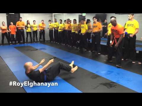 Roy Elghanayan's Hostage Extrication Krav Maga Defense