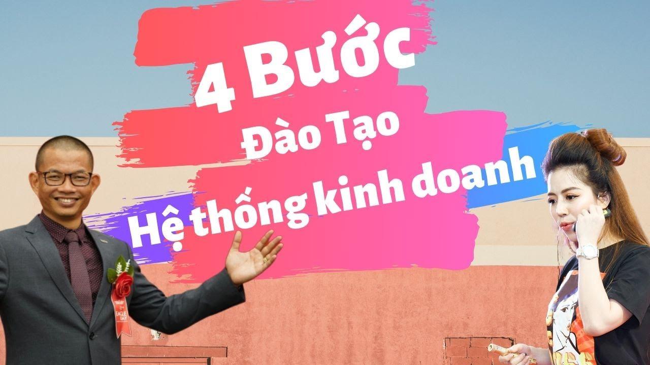Kinh Doanh Hệ Thống 1: Luật sư Phạm Thành Long tiết lộ 4 bước để Đào tạo hệ thống kinh doanh