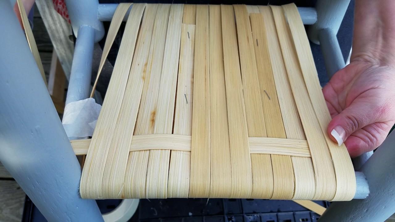 How To Cane A Chair Optic Nadeshot Gaming Diy With Flat Reed Herringbone Pattern Weave