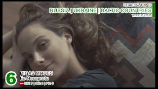 RUSSIA | UKRAINE | BALTIC COUNTRIES Top 10 (week 35 / 2015)