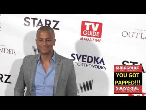 Yanic Truesdale at the TV Guide Magazine Celebrates STARZ's Outlander at Pailhouse in West Hollywood