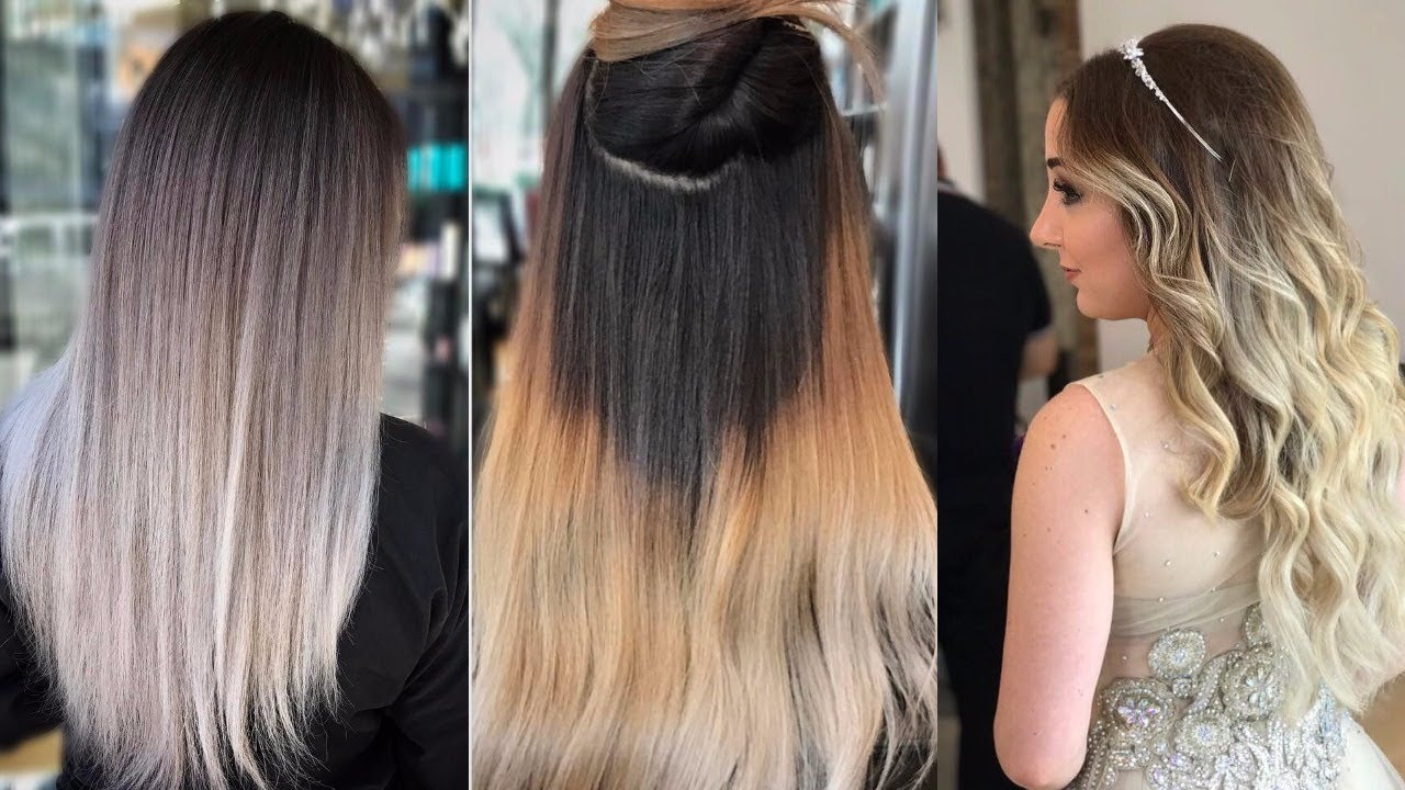 Top 10 Most Popular Womens Hair Color Trends 2018 Youtube
