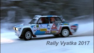 Rally Vyatka Russian Cup 2018 (Action & Mistakes & Sounds)
