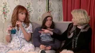 In Bed With Joan   Episode 48  Kathy Griffin Part 2 including Aubrey Plaza!