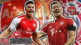 Bayern Munich 5-1 Arsenal Live Stream HD Champions League | WATCHALONG