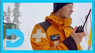 A Day with Ski Patrol - Fernie Alpine Resort