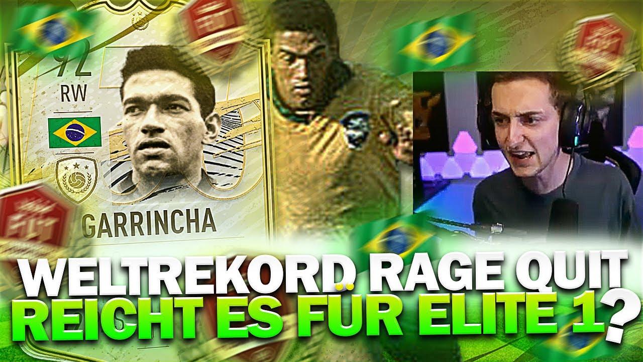 WELTREKORD RAGE QUIT & wird es Elite 1? | FIFA 21 WL Highlights |  Pain