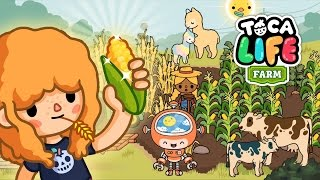 Super cute animals and lamas in Toca Life Farm